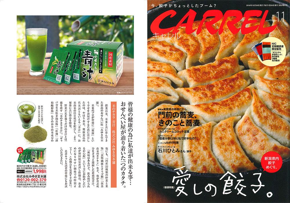 キャレル 米のチカラ青汁